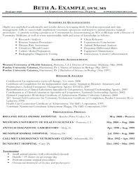 Sample Vet Tech Resume Unique Sample Vet Tech Resume Unusual Design