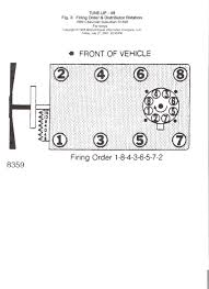 need chevy 350 firing order diagram graphic