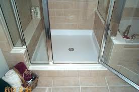 barrier free shower pan tile ready pans base canada barrier free shower