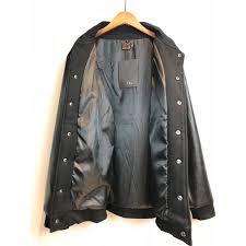 autumn and winter deadstock evisu embroidery cotton jacket coat