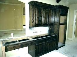 dark stained kitchen cabinets. Unique Dark Black Stained Cabinets Distressed Kitchen Dark Stain Cabinet Brown For  With Dark Stained Kitchen Cabinets H