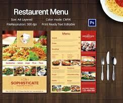 Free Restaurant Menu Template Files Vectors Graphics 365com Design