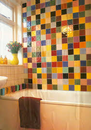 Brand New Colorful Bathrooms That Look Vintage Or Retro Colorful Bathrooms