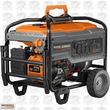 Generac 6826 XC 8000W Electric Start Gas Powered Portable Generator