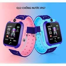 Đồng Hồ Thông Minh Định Vị Trẻ Em Q12 Có GPS, Chống Nước, Cuộc Gọi Khẩn Cấp  Bảo Hành 6 Tháng chính hãng 516,000đ