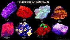 30 Best Gems Under Uv Light Images Minerals Gems Rocks