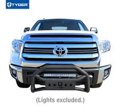 Front Bumper Guard 2007-2018 Toyota Tundra | Textured Black ...