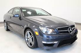 Certified Pre-Owned 2012 Mercedes-Benz C-Class AMG® C 63 Coupe ...