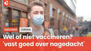Voxpop: laat Enschede zich vaccineren tegen corona? - YouTube