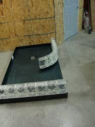 ready for tile shower base expanded polystyrene for glass blocks