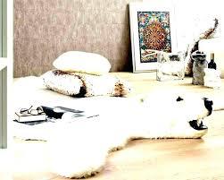 fake bear skin rug with head faux bear rug for nursery fake bear rug faux polar