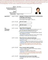 How To Write A Resume Singapore] Sample Resumes Job Hunters Guide .