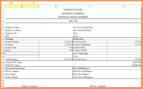 Employee Salary Slip Sample Classy 48 Blank Wage Slip Template Excel Uk Free Payslip Word Salary Awe