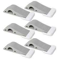 door stopper. Amazon.com : Door Stopper 6 Pack Set [BONUS HOLDERS \u0026 EBOOK] - SofiHome Premium Heavy Duty Stop Rubber Wedge With Decorative Storage Holder Ideal