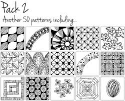 Doodle Patterns Extraordinary Doodle Patterns A Library Of Doodles In Your Pocket