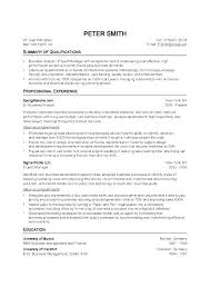 Scholarship Resume Format Beauteous Standard Resume Format Free Professional Resume Templates Download