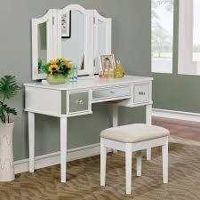Furniture of America <b>Aurora</b> Contemporary <b>Style 3</b>-Sided Mirror ...