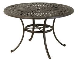 mayfair by hanamint luxury cast aluminum patio furniture 54 round counter height table