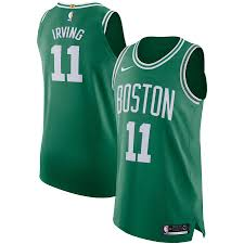 Men's Nike Kyrie Irving Kelly Green Boston Celtics Authentic Player Jersey  - Icon Edition