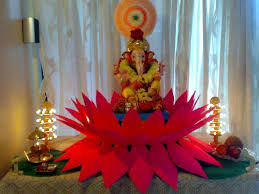 home decorating ideas for ganesh chaturthi lovely telugu