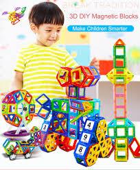 44 157pc <b>Big Size Magnetic</b> Designer Building Blocks 3D ...