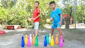 Trò Chơi Bowling Vui Nhộn ❤ Surich ToysReview ❤ Đồ Chơi Trẻ Em Baby Fun  Play Bowling Toys - YouTube