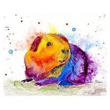 guinea pig wall art