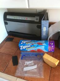foodsaver ziplock bags. Modren Bags All You Need Is The Accessory Adapter And A Piece Of Rubber For Backing  I Use Airplane Engine Baffle But Any Sheet Should Do  To Foodsaver Ziplock Bags O