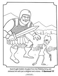 Small Picture Kids coloring page from Whats in the Bible featuring David and