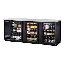 true tbb 4g hc ld 91 glass door back bar cooler
