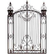 metal gate wall art shop home home decor wall art bronze garden gate metal wall art 65  on iron gate wall art with metal gate wall art shop home home decor wall art bronze garden