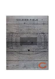 Chicago Bears Seating Chart Chicago Bears 16x20 Seating Chart Sign