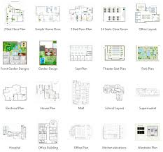 Small Picture Floor Plan Software Create Floor Plan Easily From Templates and