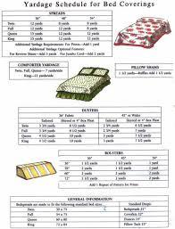 Comforter Measurements Chart King Duvet Size Chart Metamap Top