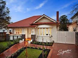 Small Picture Weatherboard californian bungalow house exterior with bay windows