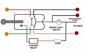 brake light wiring 3 wire turn signal help the h a m b if you re using a aftermarket switch it s easy just tap into the wire after the brake light and before your flasher relay