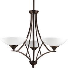progress lighting prosper series 3 light chandeliers p4701 20