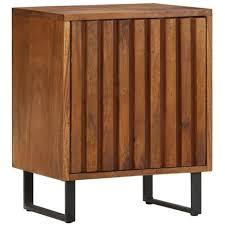 <b>Bedside Cabinet 40x30x50</b> cm Solid Mango Wood in 2020 ...