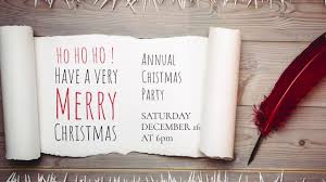 Make Your Own Christmas Party Invitations And Cards Design Wizard