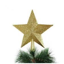 Us 111 21 Offweihnachten Stern Weihnachten Baum Top Weihnachten Baum Dekoration Gold In Anhänger Drop Ornamente Aus Heim Und Garten Bei