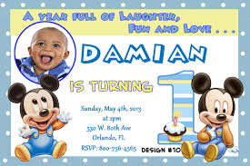 mickey mouse first birthday invitations com mickey mouse first birthday invitations by easiest invitation templates printable for having your beauteous birthday 16