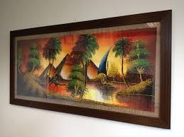 silk fabric framing