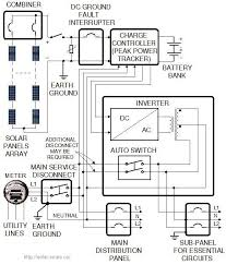 battery bank wiring diagram facbooik com 12v Battery Bank Wiring Diagram our 4kw grid tied solar power system, a real life example 12 Volt Battery Wiring Diagram