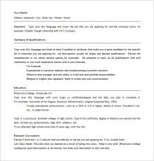 Combination Resume Template Word All About Letter Examples