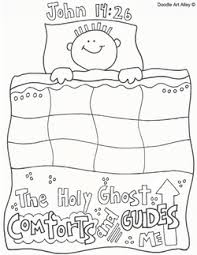 Small Picture Holy Ghost Religious Doodles