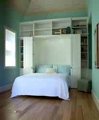 Murphy Bed Design Ideas For Small Rooms In Blue