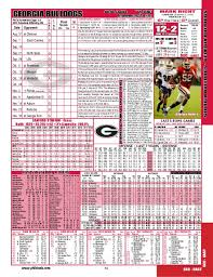Georgia Bulldogs Depth Chart Bulldogs Depth Chart And Comparison 2013