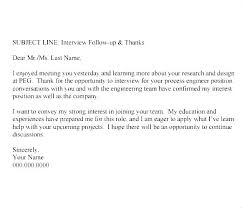 Thanks For Offer Letter How To Follow Up After Interview Thank You Letter Email Format An