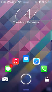 JellyLock7 Is A Customizable Android Inspired Lock Screen For iOS