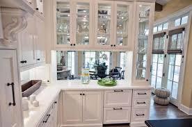 White Kitchen Cabinets Glass Doors Kitchen Cabinets Decor 2018